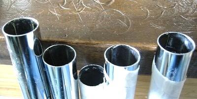 シャフトの内側に鉛