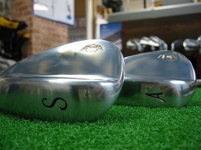 WINBIRD PROTOTYPE WEDGE 銅下メッキ仕様