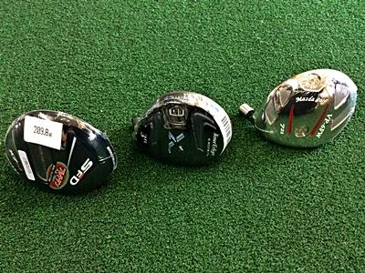 ロイヤルコレクション SFD X7チタン、ツアーエッジ CB3ブラック、マスダゴルフ VP6