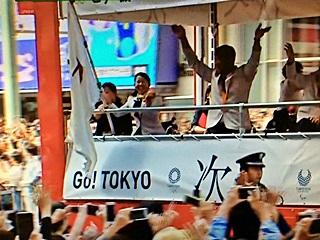 オリンピックのパレード, olympic