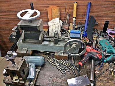 オネストで使用している道具, craft tools in HONEST