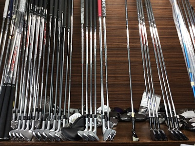 ゴルフクラブ工房で自分に合ったものを揃えるコト, custom made golf clubs