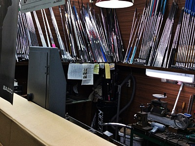 オネストの今日の店舗, today's honest golf club workplace