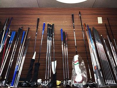 ご依頼中のゴルフクラブの棚は無事, Golf clubs care and maintenance by HONEST