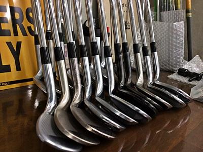 ゴルフ工房が揃える試打クラブによるブラインドテスト, testing clubs by HONEST